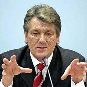 Ющенко відзначив директора психоневрологічного інтернату