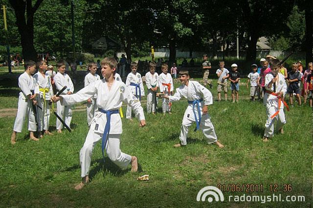 Відкритий урок рукопашного бою для дітей