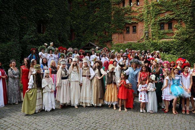 Феєричне етно-фешн шоу «Аристократична Україна» відбулось в Замку-музеї Радомисль. + ФОТО