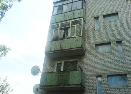 У Радомишлі сталася пожежа в п'ятиповерхівці