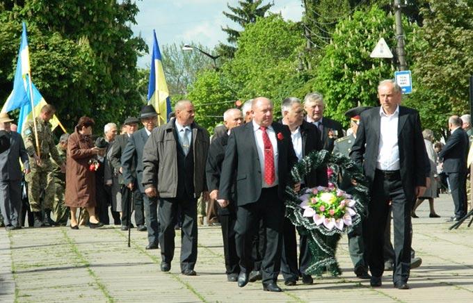 Відбувся урочистий мітинг до Дня Перемоги над нацизмом у Другій світовій війні. + ФОТО