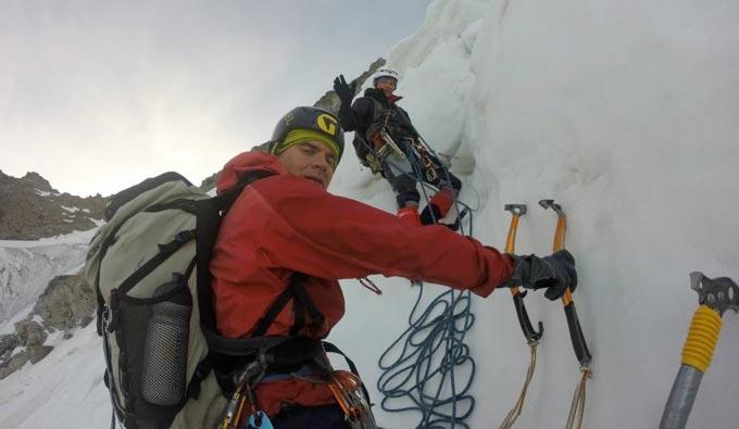 Уродженець Радомишля разом з двома сміливцями досягли найвищої точки Альпійських гір. + ФОТО