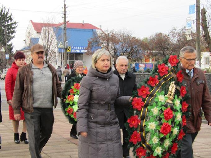 У Радомишлі відзначили День визволення України від німецько-фашистських загарбників. + ФОТО