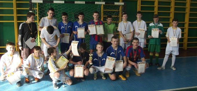 Відбулися змагання в Дитячо-юнацькій лізі Радомишльського району з футзалу серед юнаків 2000-2001р.н. та 2002-2003 р.н.
