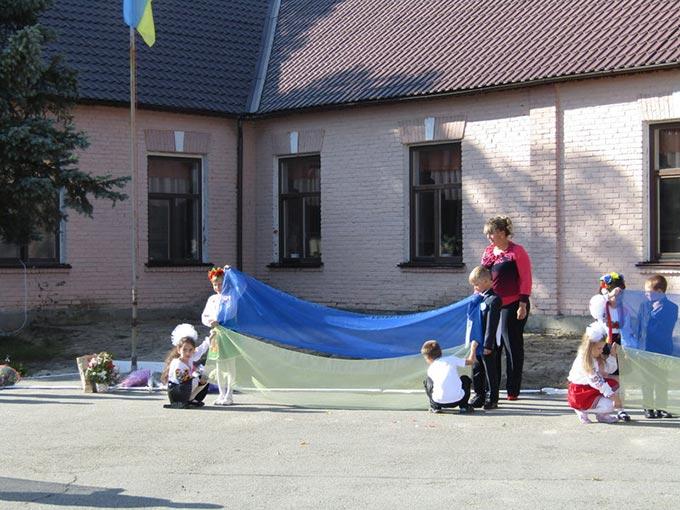 Урочисте відкриття дошкільного навчального закладу в Радомишлі. + ФОТО