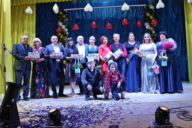 14 лютого в міському Будинку культури відбулось конкурсно-розважальне талант-шоу «Дві зірки». + ФОТО