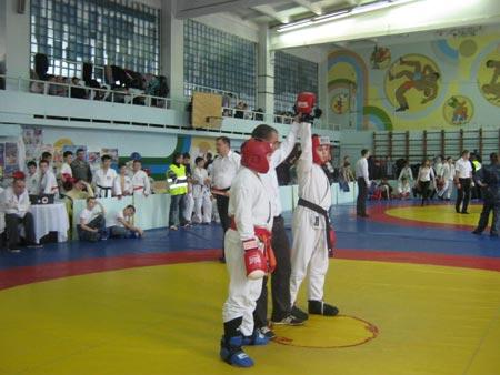Радомишль на чемпіонаті з рукопашного бою
