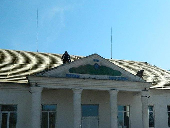 Розпочато капітальний ремонт даху та фасаду Мірчанського сільського Будинку культури