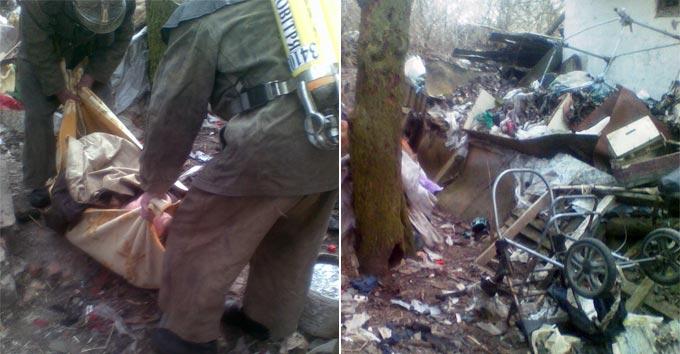 На Радомишльщині медики не змогли дістатися до пацієнтки через гори сміття в її будинку