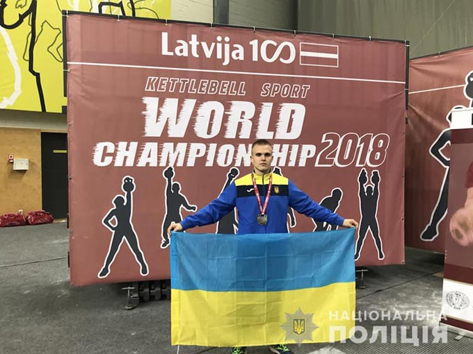 Радомишлянин Євгеній Колесник – срібний призер Чемпіонату світу 2018 з гирьового спорту