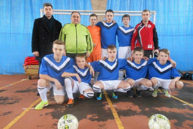 Юні футболісти Радомишльського району пробилися до фіналу Першості ВФСТ «Колос» з футзалу серед юнаків