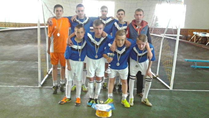 Юні футболісти з Радомишльщини завоювали 2 місце на всеукраїнських змаганнях з футзалу
