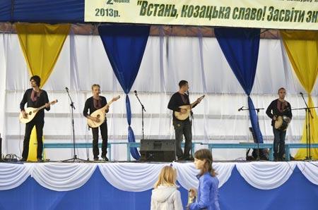 Радомишляни здобули перемогу на конкурсі козацької пісні. ФОТО