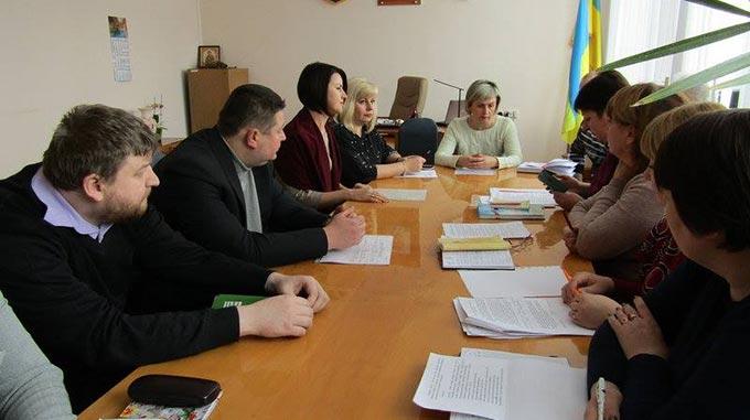 """Відбулося засідання круглого столу на тему """"Про організацію професійної адаптації учасників АТО..."""""""