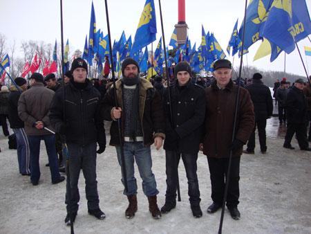 Радомишльські Свободівці взяли участь у вшануванні пам'яті Героїв Крут