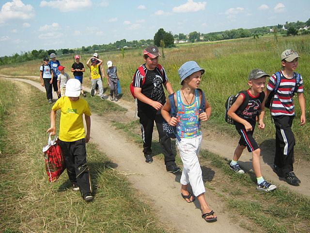 Учні з групи рукопашного бою зробили туристичний марш кидок на 20 км