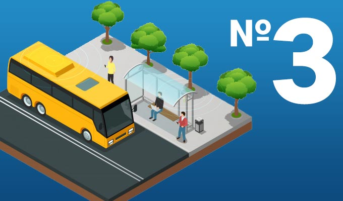 ДО УВАГИ РАДОМИШЛЯН: Міський автобусний маршрут №3 продовжено