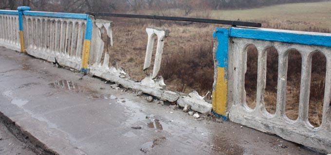 Депутат обласної ради Микола Григорович поставив питання про капітальний ремонт мосту через річку Тетерів