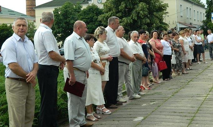 Відбувся мітинг-реквієм до Дня скорботи і вшанування пам'яті жертв війни в Україні