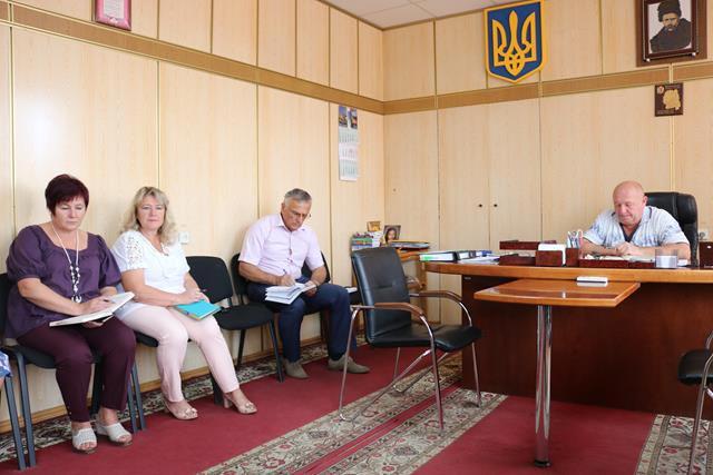 Відбулась нарада з питань підготовки та проведення заходів до Дня державного прапора України та Дня Незалежності України