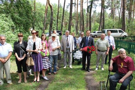 Неподалік Радомишля відбулося відкриття пам'ятника єврейським дітям