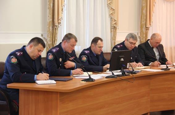 У Житомирській області райвідділи міліції об'єднали у п'ять відділів поліції. + ФОТО