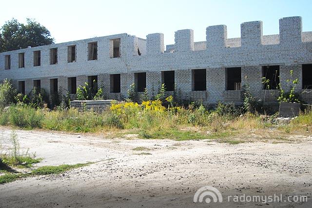 Будівництво поліклініки в Радомишлі