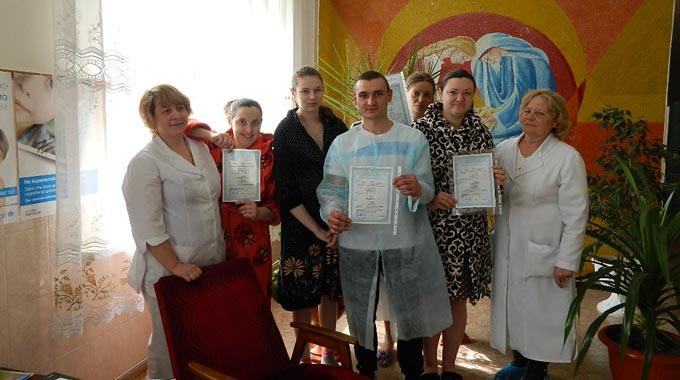 В пологовому залі Радомишльської ЦРЛ проведено реєстрацію новонароджених та вручення свідоцтв.