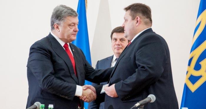 Президент України представив нового голову Житомирської облдержадміністрації Ігоря Гундича