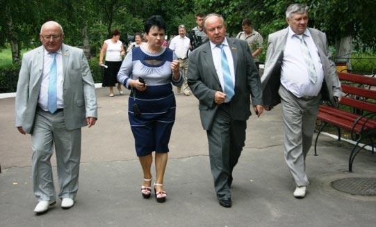 Голова обласної ради 2 серпня, у п'ятницю, з робочим візитом побував у Радомишльському районі. ФОТО. ВІДЕО