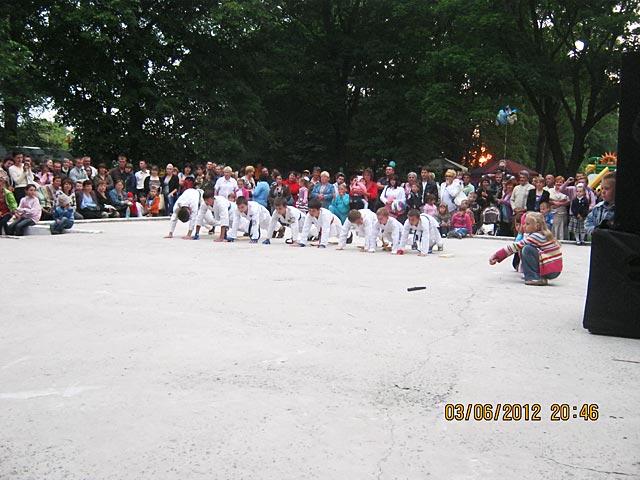День міста разом з дітьми групи рукопашного бою