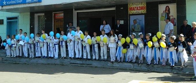 У Радомишлі відбулися урочистості з нагоди Дня фізичної культури та спорту. (ФОТО+ВІДЕО)
