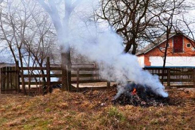 Рятувальники закликають мешканців Радомишльщини не спалювати суху рослинність