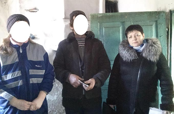 Психологом Радомишльського РВ з питань пробації були перевірені суб'єкти пробації за місцем проживання.