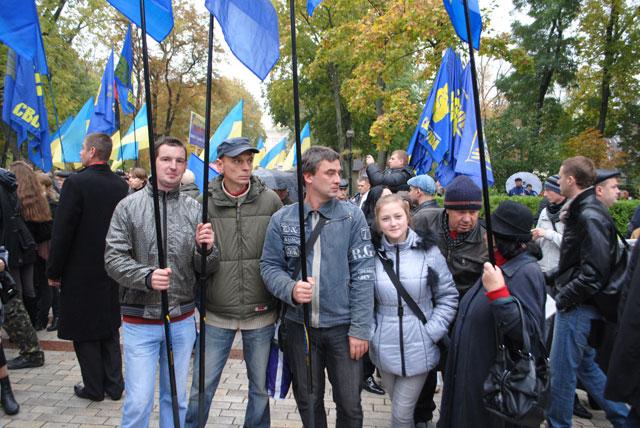 Радомишляни взяли участь в марші слави УПА