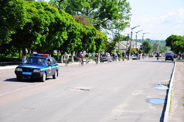 2 червня радомишляни відзначили всеукраїнський Велодень