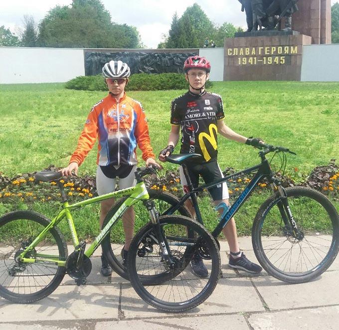 Юні велосипедисти Радомишльської ДЮСШ посіли четверте місце на Чемпіонаті України з велоспорту