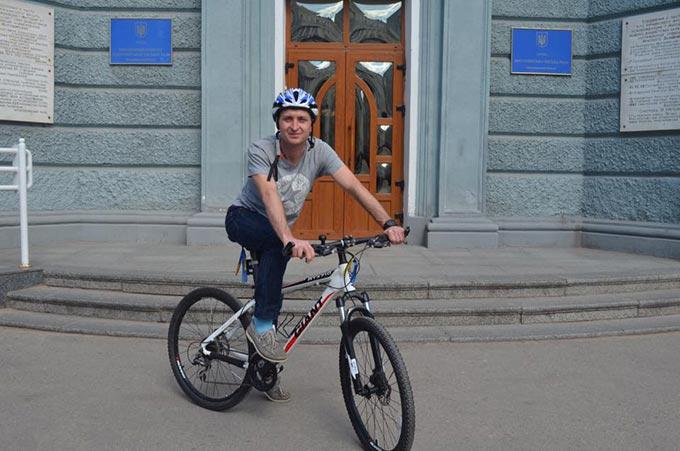 Депутат Радомишльської міськради отримав посаду «уповноваженого з велотранспорту» в Житомирській мерії