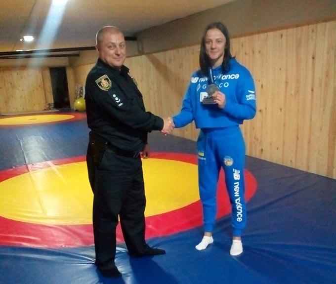 Призерка Чемпіонату світу 2019 з вільної боротьби Ірина Коляденко провела відкрите тренування в Радомишлі