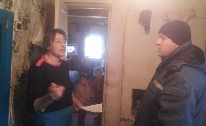 Радомишльські рятувальники провели відпрацювання у селах Велика Рача, Мала Рача та Чудин. + ФОТО