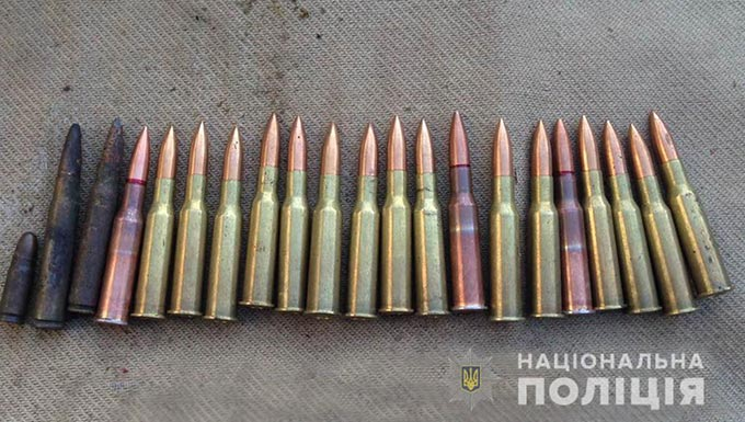У Радомишльському районі з приватного будинку вилучили зброю та наркотики. + ФОТ