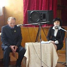 18 грудня відбулась авторська зустріч з письменником, журналістом, редактором газети «Факти» Шуневичем В.П.