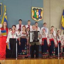 В Радомишльській районній державній адміністрації відбулися урочисті збори та святковий концерт з нагоди Дня Соборності України.