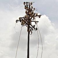 У Новій Буді викрали 1 км сталевого дроту