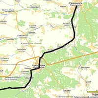 """Волонтери розвідали ділянку """"Євровело-4"""" Житомир-Радомишль"""
