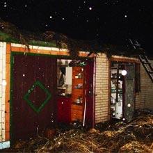 Рятувальники ліквідували пожежу в господарчій будівлі, а також врятували від знищення ще 3 споруди