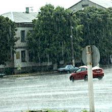 Радомишльський район накриє дощами: температура не перевищуватиме + 18 градусів