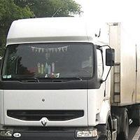 У с. Кочерів, затримано водія вантажівки, який збив насмерть людину та втік з місця ДТП