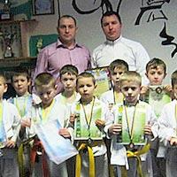У Радомишлі відбувся Чемпіонат району з кікбоксингу