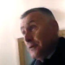 У приміщенні РДА сталася штовханина між новим мером Радомишля Соболевським О.В. та депутатом міськради Папірним О.С. (Відео)
